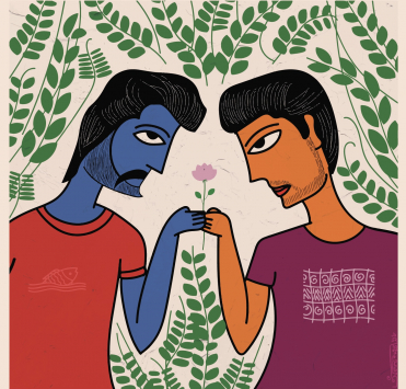 Illustration by Nazim Ahmed for GWSS 255 Masculinities