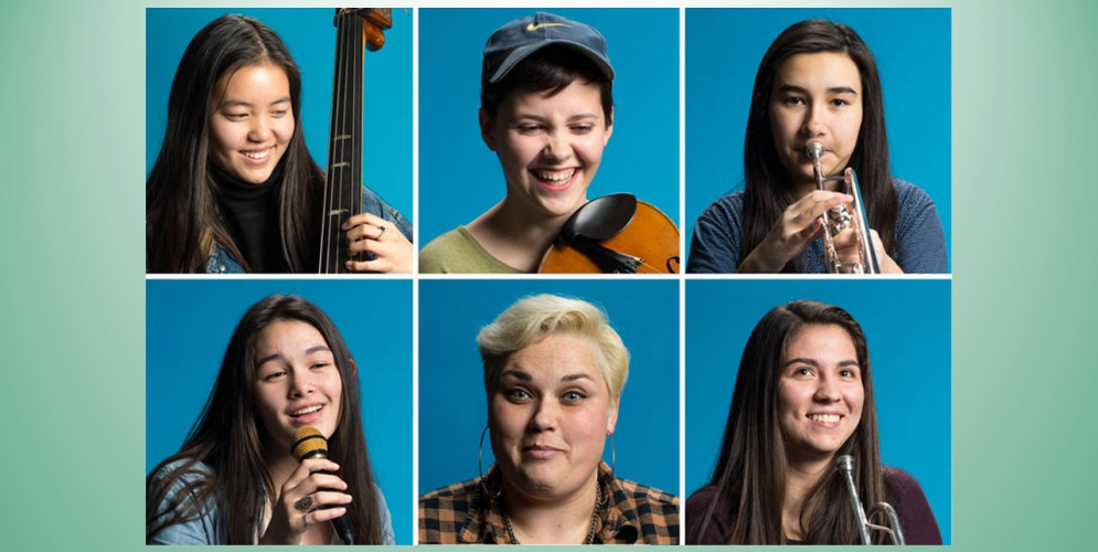 Alum Kelly Barr-Clingan Seattle Girls Jazz Band Shatters Stereotypes