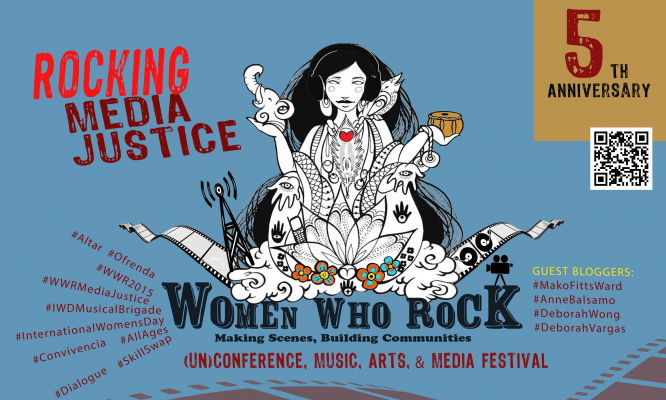 Women Who Rock - Rocking Media Justice 2015