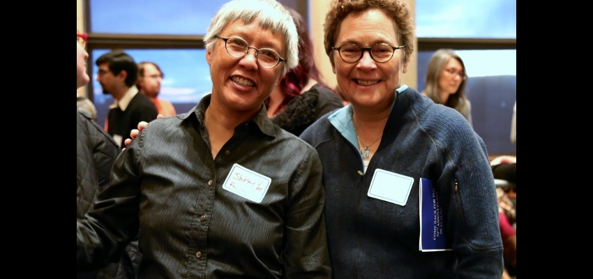 GWSS Interim Chair Shirley Yee and Lecturer Patricia Novotny