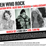 2012 WWR Conversation with Alice Bag, Medusa, Carla Desantis Black