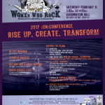 Womxn Who Rock 2017 (Un)Conference: Rise Up, Create, Transform