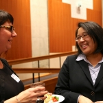 GWSS Alum Amy Peloff and GWSS's Regina Yung Lee, Ph.D.