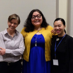 Cricket Keating and Christina Chung attend Toward Decolonial Feminisms Conference May 11-13, 2018