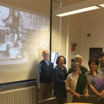 Jiwoon Yu-Lee post dissertation defense with doctoral supervisory committee