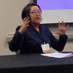 GWSS Lecturer, Regina Yung Lee, at NWSA Annual Conference