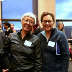 GWSS Chair Shirley Yee and Lecturer Patricia Novotny