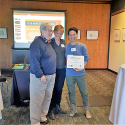 Jey Saung receives 2018 Marie Doman Award for Excellence in Teaching