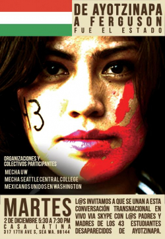 Ferguson Ayotzinapa. Poster Event