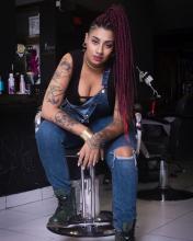 Afro-Ecuadorian hip hop artist Black Mama