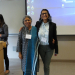 Priti Ramamurthy and Ananya Garg at Undergrad Research Symposium May 18, 2018