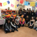 Students in GWSS 451 create Dia de los Metros Altar/Exhibit